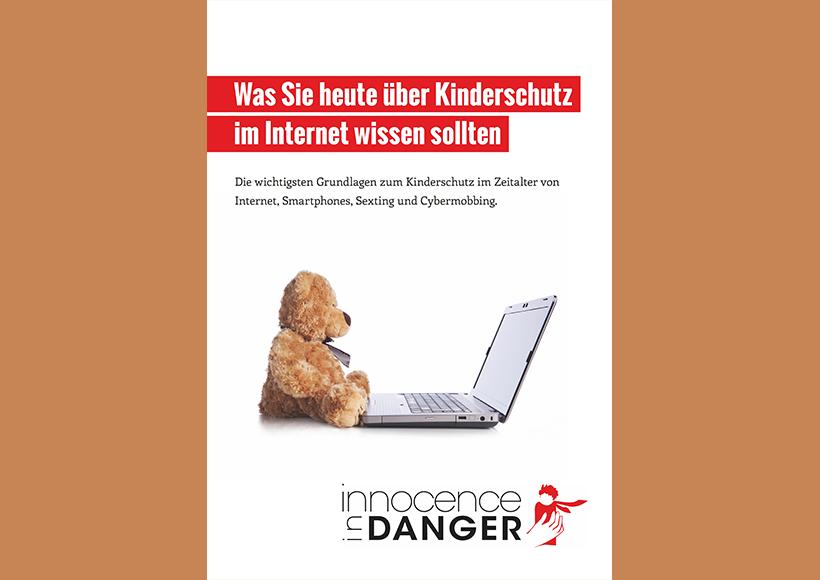 Bildauschnitt von der Startseite Was Sie heute über Kinderschutz im Internet wissen sollten