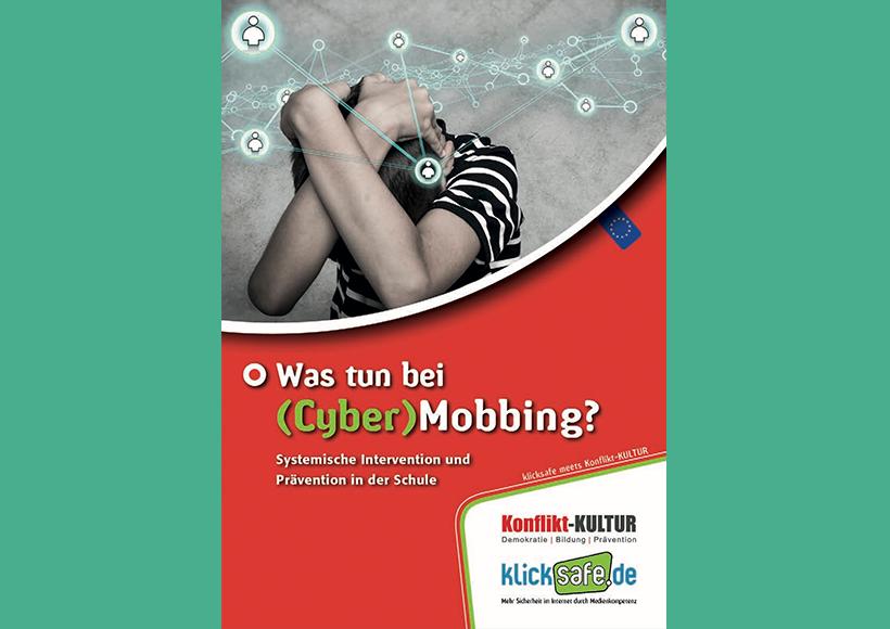 Bildauschnitt von der Startseite Was tun bei (Cyber) Mobbing?
