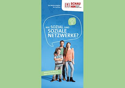 Bildauschnitt von der Startseite Wie sozial sind soziale Netzwerke?