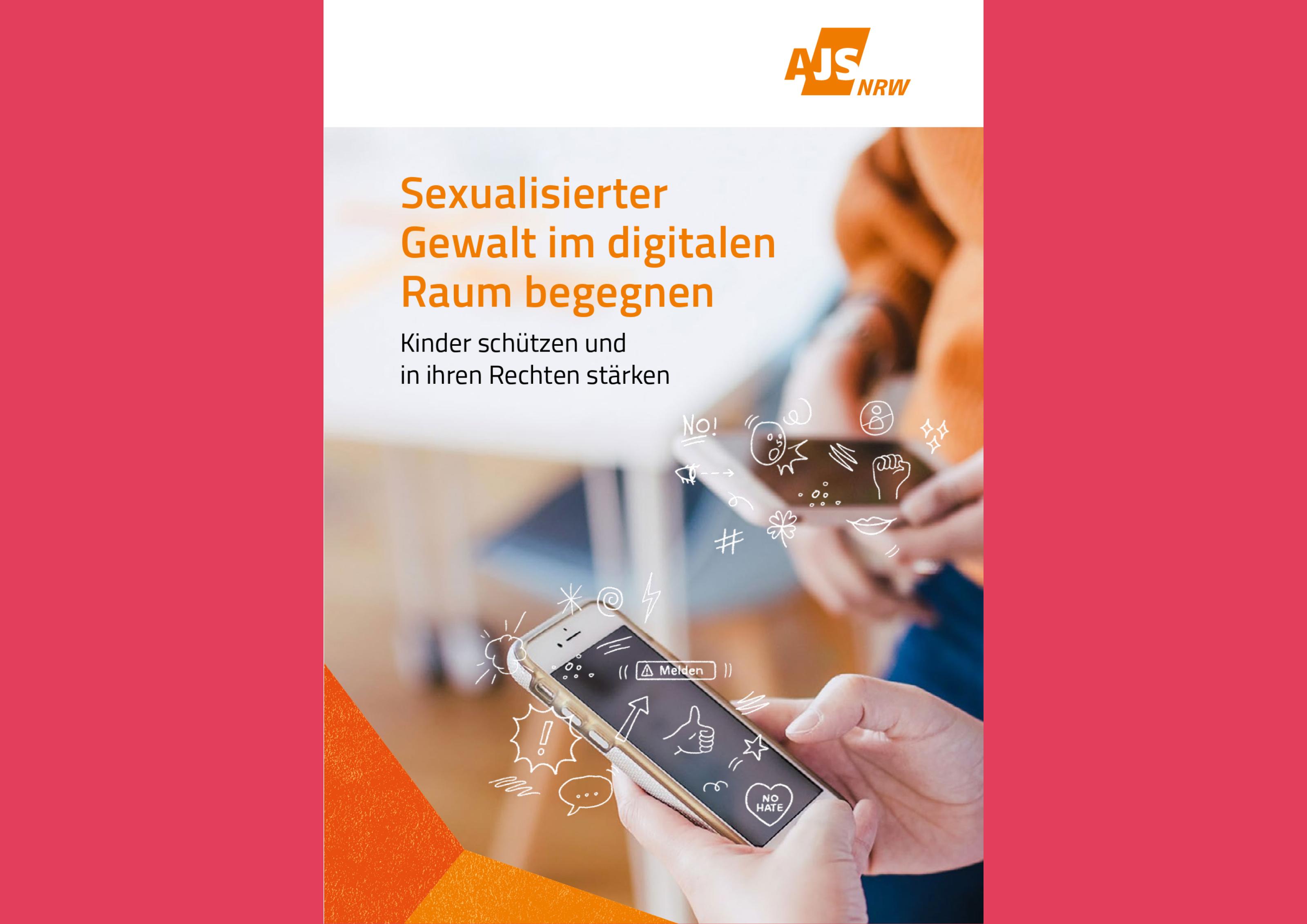 Bildauschnitt von der Startseite Cyber-Grooming, Sexting und sexuelle Grenzverletzung – Kinder in der digitalen Welt stärken und schützen